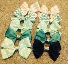 Colorful creative bows made just for you by Bowappetitt on Etsy, $5.00
