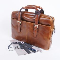BELIVUS Lux Surface Buffalo Leather Men's Briefcase Refined Modern Bag/SSB035 | eBay