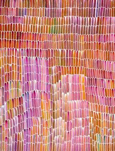 Aboriginal Art is so incredibly beautiful, using minimal resources and yet creating the most spectacular and colourful pieces of art that I have ever seen.