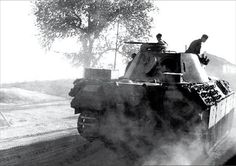 Panther Ausf. D of the Panzer-Abteilung 52 in early July 1943