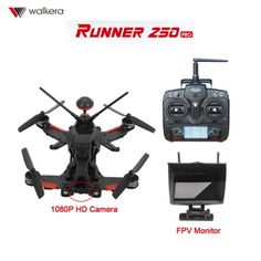 (489.00$)  Watch more here  - Original Walkera Runner 250 PRO RC FPV DRONE w/5.8G Monitor&1080P Cam&OSD&GPS