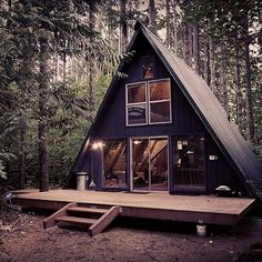 Tye Haus Cabin photos at blessthisstuff.com #cabin #cabinporn #retreat #blessthisstuff #tyehaus #aframe #aframecabin @tyehaus