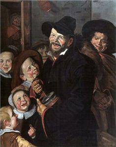 Frans Hals (Antwerp 1582 – Haarlem 1666)  The Rommel Pot Player   1618-1620