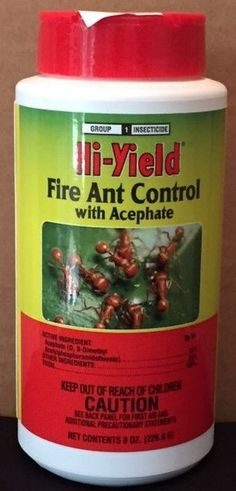 Fire Ant Control With Acephate, for sale online