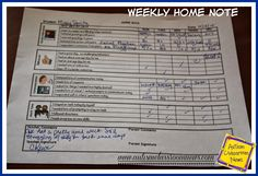 Special Education Home-School Communication for All Ages by Autism Classroom News at http://www.autismclassroomnews.com