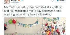 Mom Didn't Sell Any Knitted Goods At A Fair, So Twitter Bought It All