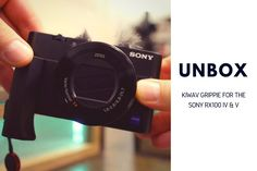 UNBOX: KiWAV Grippie for the Sony RX100 V and RX100 IV - http://brians.photos/2lekDem |