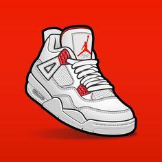 "SLOFAR on Instagram: ""Jordan 4 metallic pack #sneakerart #sneakervector #sneakerposters #jordan4 #jordan4s #jordan4metallicpack"" Jordan 4, Shoes Clipart, Sneaker Posters, Nba Wallpapers, Hypebeast Wallpaper, Sneaker Art, Poster S, Shirt Print Design, Shoe Art"