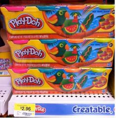 Walmart Coupons - Play-Doh Compounds Pack just $1.96!