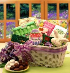 Gourmet Easter Gift Basket