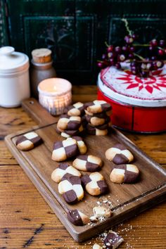 'Tis the Season to Bake eBook - Christmas Recipes for Thermomix Homemade Chocolate, Chocolate Desserts, Melting Chocolate, German Christmas Food, Christmas Recipes, Fruit In Season, Tis The Season, Black And White Cookie Recipe, Condensed Milk Recipes