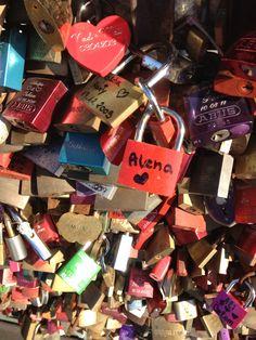 Liebesschlösser in Köln ❤