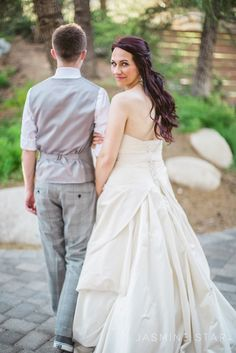 looking back -  Santa Clarita Wedding : Melissa and Brian - Jasmine Star Blog