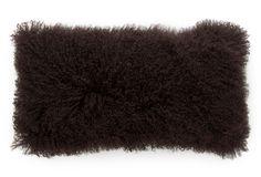 Mongolian Fur Lumbar Pillow