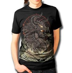 Wicked Caribou - Summoning The Dragon T-shirt Available at www.wickedcaribou.com