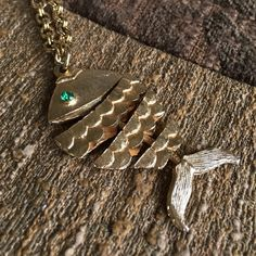 Fish Necklace With Chain