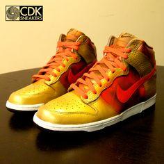 quality design 403e0 d1d53 Nike Dunk High – Indicud Custom. CDK Sneakers
