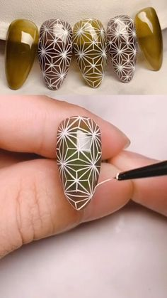 Nail Art Hacks, Gel Nail Art, Nail Art Diy, Diy Nails, Acrylic Nails, Swag Nails, Nail Art Designs Videos, Nail Art Videos, Diy Nail Designs