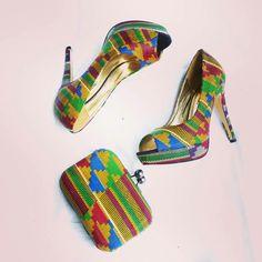Shoes, African print shoes, African heels African dresses, African clothing, ghana clothing, ankara, African print, kente print, kintenge,zabbadesigns, Nigerian fashion, Ghana fashion, Liberian fashion  zabbadesigns.com