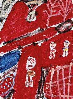 Collages, Amy Sillman, Modern Art Pictures, Art Informel, Jean Dubuffet, Thing 1, Face Expressions, Outsider Art, Magazine Art
