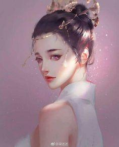 Must-read adventure fantasy books this weekends ❤❤❤ Art Anime, Anime Art Girl, Anime Girls, Manga Girl, Character Illustration, Digital Illustration, Persona Anime, Digital Art Girl, Painting Of Girl