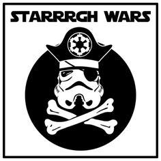 Happy International Talk Like A Pirate Day, Starrrrgh Wars style!
