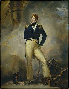 Thomas Cochrane, the inspiration for Horatio Hornblower and Jack Aubrey.