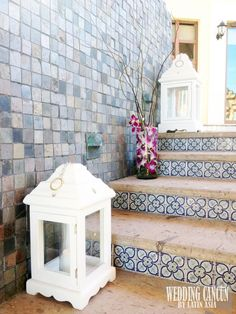 #white #lantern #weddingdecor #vintage #romantic #simple #destinationweddings #Weddingcancun by #latinasia