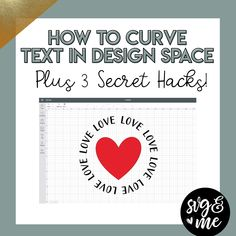 BRAND NEW: 3 Curved Text Secret Hacks for Design Space - SVG & Me Watch our video tutorial on exactly how to use the curved text feature PLUS 3 secret hacks on troubleshooting and creating unique designs with this new capability: Cricut Air 2, Cricut Help, Cricut Vinyl, Plotter Silhouette Cameo, Silhouette Cameo Projects, Silhouette Curio, Silhouette Machine, Silhouette Portrait, Diy Craft Projects