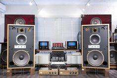 KRS 4343 new cabinet JBL Alnico re-magnetized highest peak network - Ken Rick sound (KENRICK SOUND) - JBL speakers 43XX Series Large used vintage shop