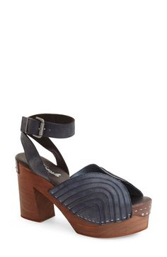 Free People 'Orion' Open Toe Clog (Women) available at #Nordstrom