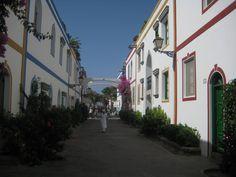 Streets from Puerto de Mogán, 2009.