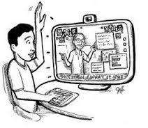 imagen de lo que serai uan flipped class #educacion