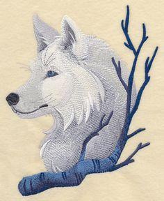 Wintry Wolf