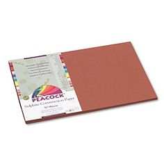 Pacon Peacock Sulphite Construction Paper ** To view further for this item, visit the image link.-It is an affiliate link to Amazon.