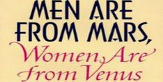 """Undoubtedly the most famous dating book in the world and the bestselling book of the 1990s, """"Men Are from Mars, Women Are from Venus"""" is an astronomical study addressing common relationship problems between men and women. Since its original publication in 1992, the book has sold more than 50 million copies in 50 different languages."""