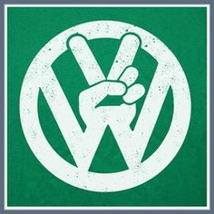 Volkswagen T Shirts | VW Tees | Bus Bug Peace Tee Shirt
