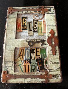 scrapbook album box