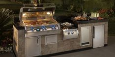 Outdoor kitchen, I would cook outside all summer if I had this.