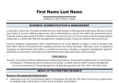 26 best best administration resume templates samples images