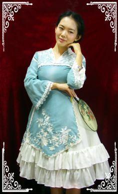 中国古代の名媛や淑女の日常コーデですよ