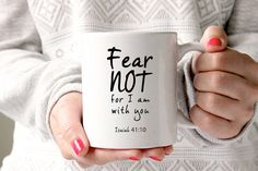 Christian mug mug with biblical verses biblical mug by GotAThought