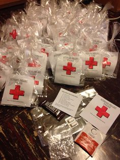 Passive program idea. Stress Relief Packs for exams!  Chocolate, gum, tea, bubble wrap and stress relief tips from the Mayo Clinic.