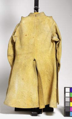 Buff coat from a harquebusier's armour. English, about 1650