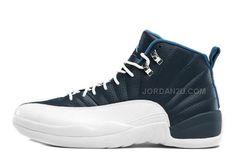 http://www.jordan2u.com/air-jordan-12-retro-obsidianwhitefrench-blueuniversity-blue-for-sale.html AIR JORDAN 12 RETRO OBSIDIAN/WHITE-FRENCH BLUE-UNIVERSITY BLUE FOR SALE Only $85.00 , Free Shipping!
