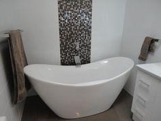 A classic freestanding bath shape with a modern twist Freestanding Bath, Bathroom Inspiration, Bathrooms, Shape, Classic, Modern, Freestanding Tub, Toilets, Bathroom