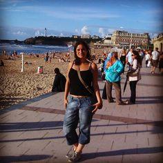 Memories... #biarritz #france #wanderlust #surf #instagood #igersfrance #travel #palace #sea #eurotrip #paysbasque #igerseuskadi #basque #citylights #instalike #paris #hondarribia #lighting #fipa #magnifiquefrance #mirror #love #tattoo #traveler #city #instadaily #throwback #ink #anglet #chasinglights
