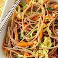 Spaghetti and Vegetable Noodle
