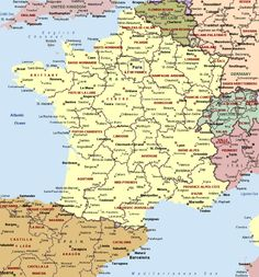 FRANCE  Planning a free south France road trip and the first