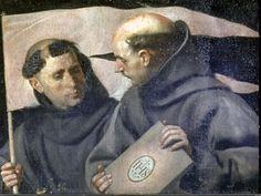 San Bernardino de Siena y San Juan Capistrano, Alonso Cano, 1653-57.  Cipactli López Rodríguez
